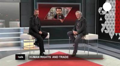 Entrevista en Euronews – Los Acuerdos Comerciales y los derechos Humanos