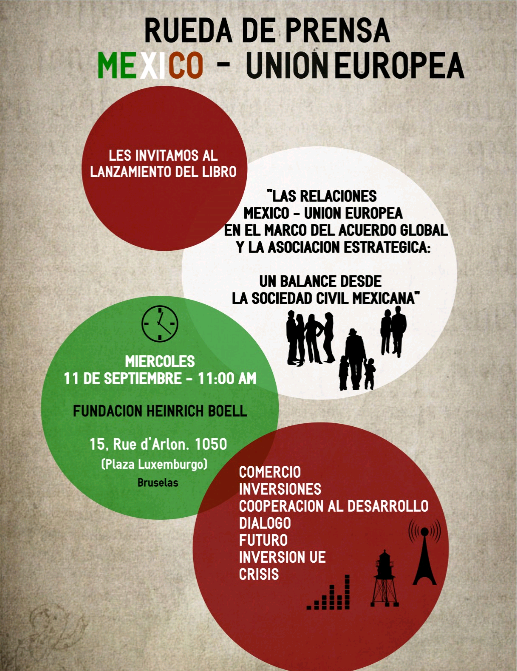 La gira en Bruselas de una delegación de representantes de la sociedad civil mexicana