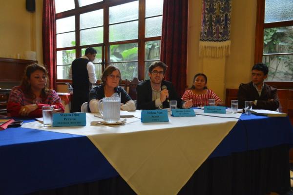 Presentación del Informe de la III Misión Internacional en Guatemala