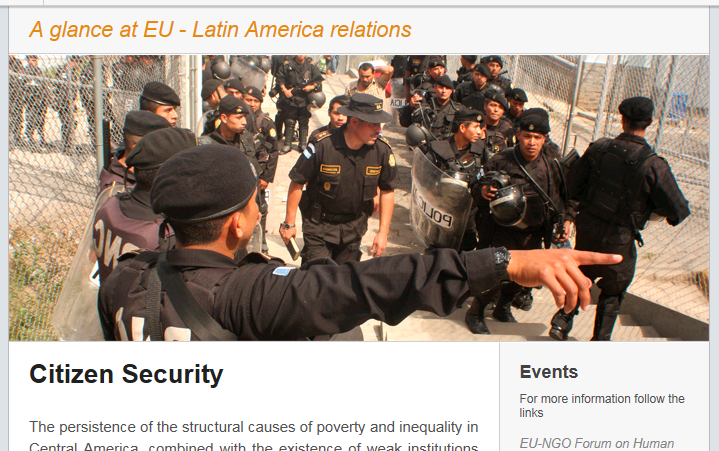 Newsletter # 6: Citizen Security
