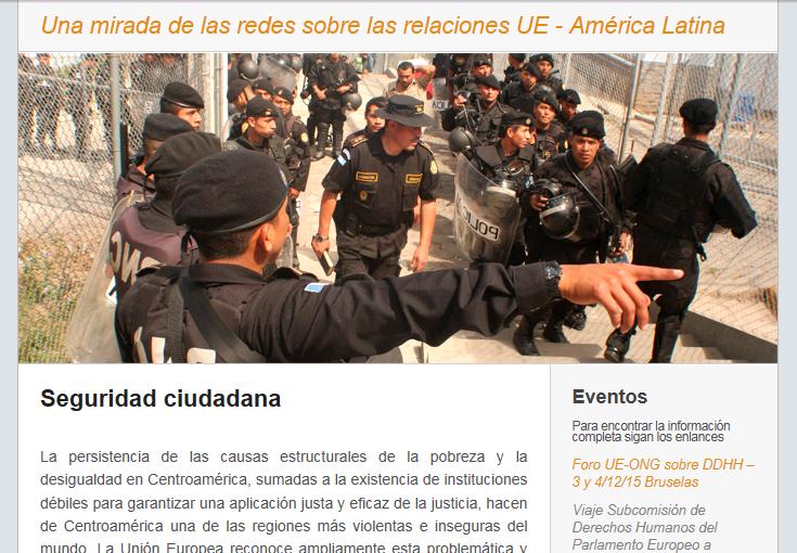 Boletín de las redes nº6: Seguridad Ciudadana