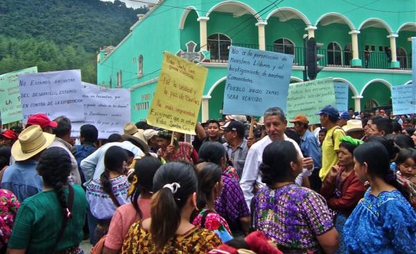 Empresas europeas no respetan derechos humanos en Guatemala