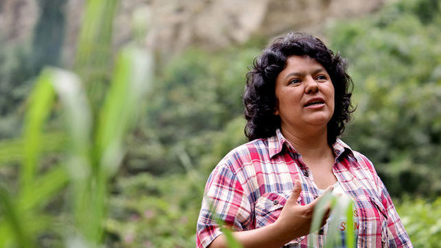 Second anniversary of the assassination of Berta Cáceres