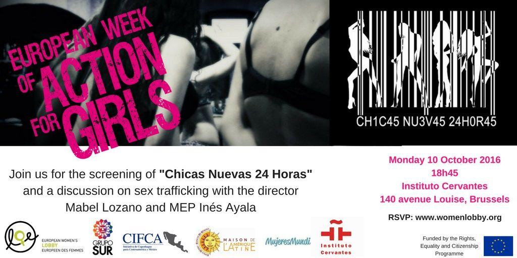 Invitación a proyección del documental «Chicas nuevas 24h»