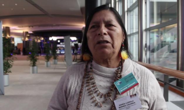Entrevista a las Defensoras de DDHH peruanas Rocío Santiesteban y María Luzmila Bermeo