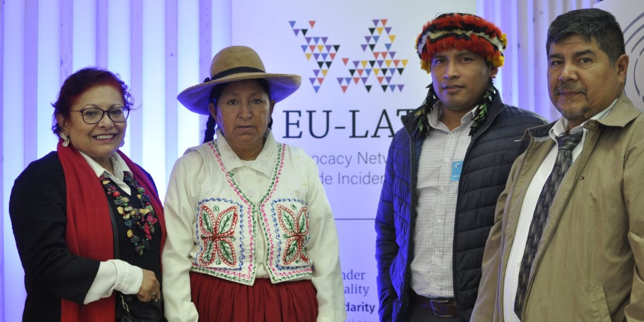 Advocacy tour: Peruvian defenders denounce megaprojects