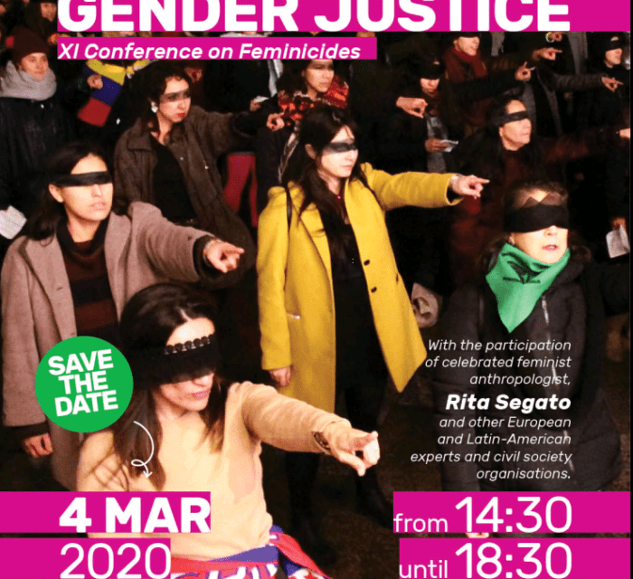 IMPORTANT!  THE XI CONFERENCE ON FEMINICIDES HAS BEEN POSTPONED
