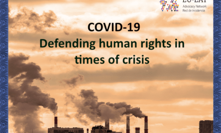 Statement of EU-LAT Network on COVID-19: defending human rights in times of crisis
